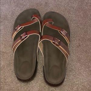 Steve Madden, Madden Girl Rose Gold Sandals